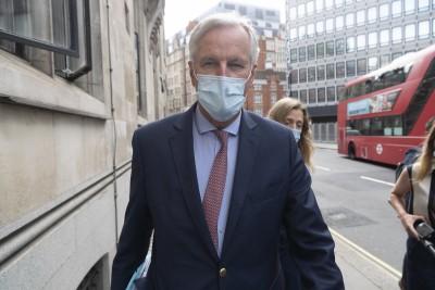 UK, EU negotiators meet in