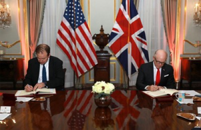 UK, US sign customs deal for post-Brexit trade