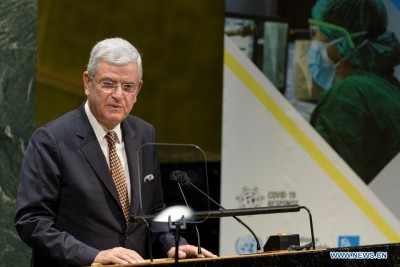 UNGA president calls on people to work together to end Covid
