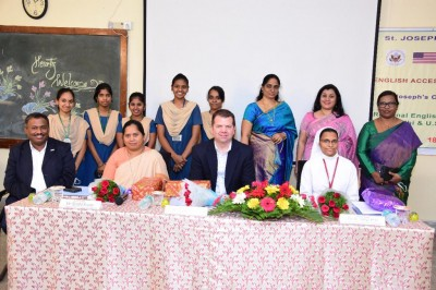 US Consulate in Hyd to train 50 Vizag girl students in English