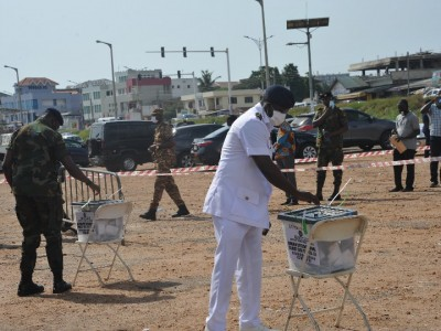 Voting ends in Ghana's general election