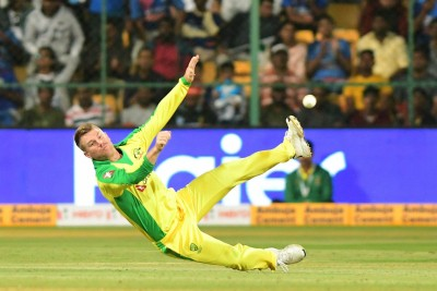 Warner names himself 'ICC Male Tiktoker of the Decade'