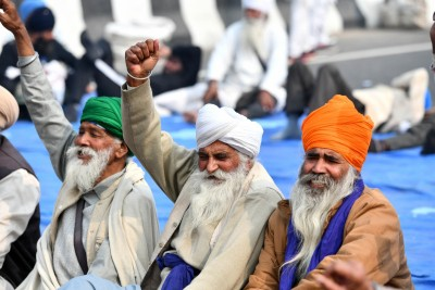 Where is farmer agitation gathering strength from?