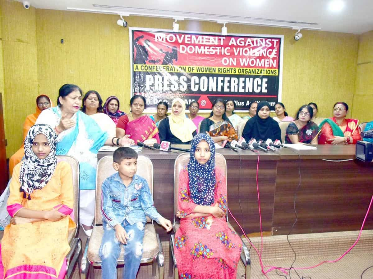 Confederation of announce state-wide movement against domestic violence
