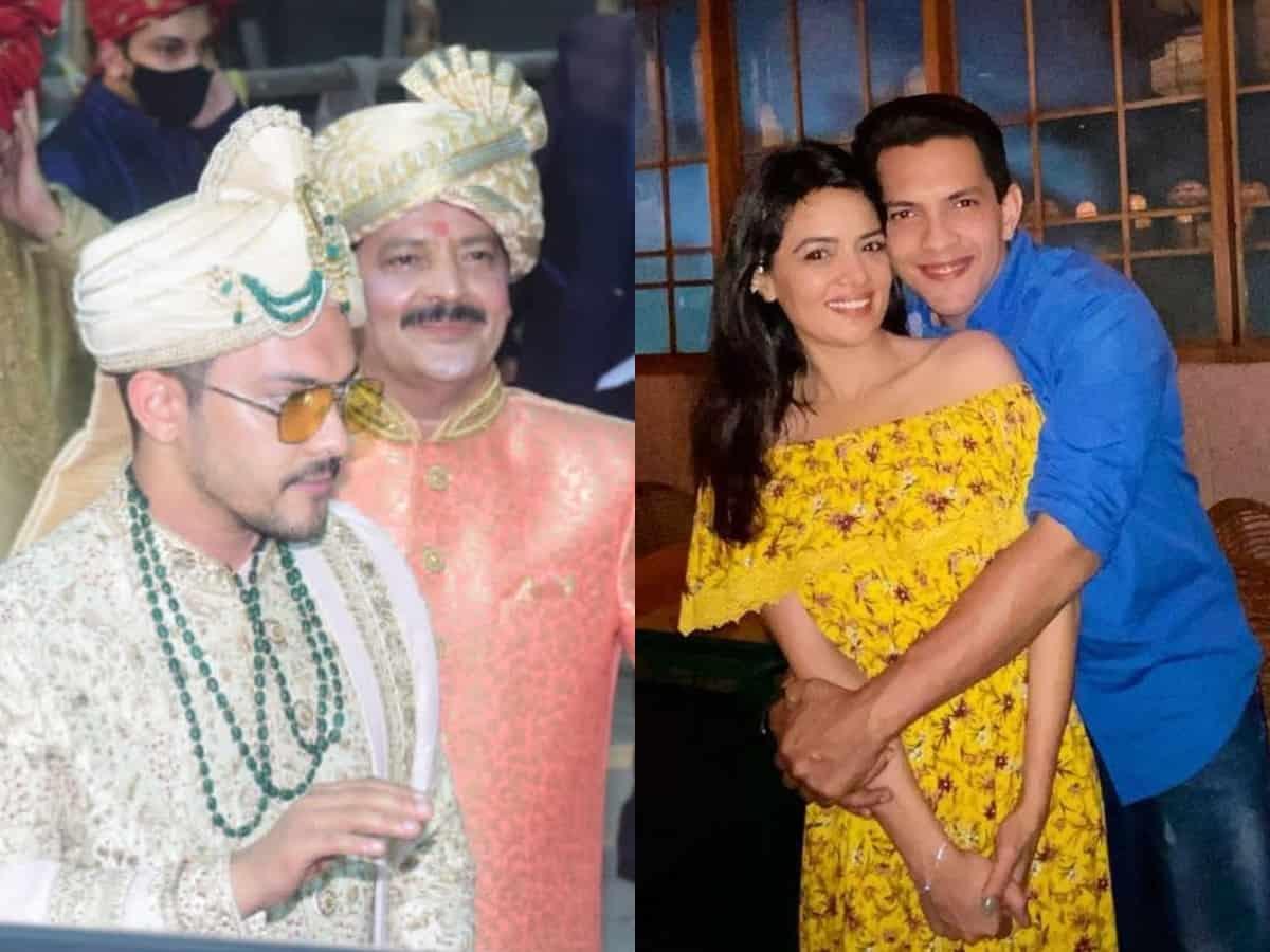 Aditya Narayan marries his lady love Shweta Aggarwal; see pics, videos