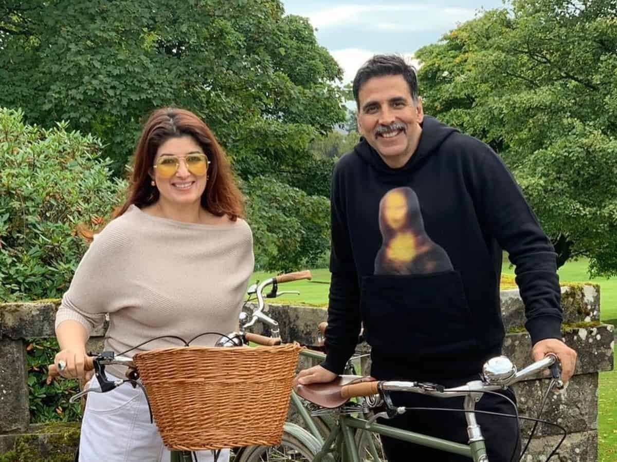 Twinkle Khanna gets sweetest birthday wish from hubby Akshay Kumar
