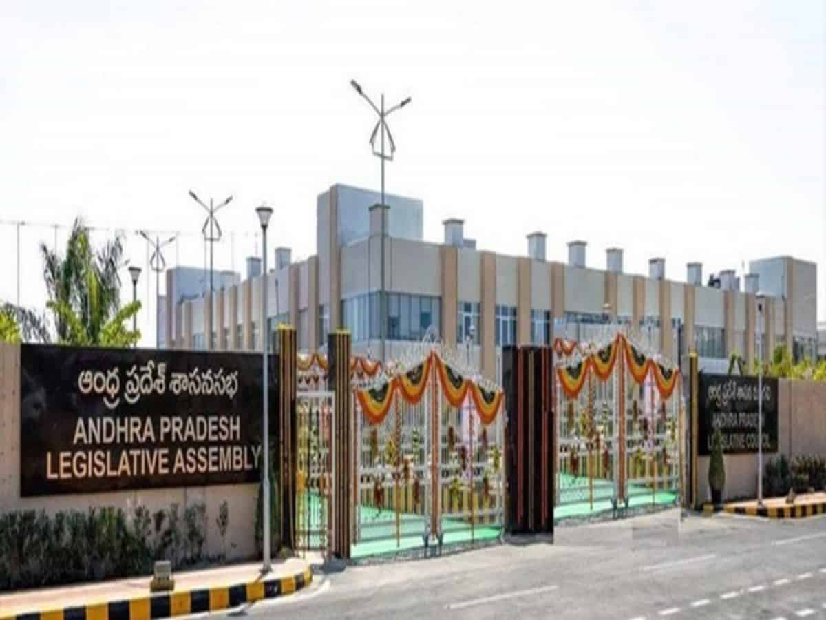 10 TDP MLAs suspended from Andhra Assembly for creating ruckus, raising slogans