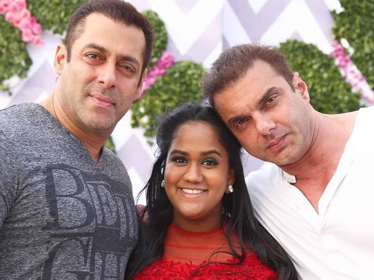Watch: Salman Khan's sister Arpita Khan breaks plates at restaurant to 'block evil spirits'
