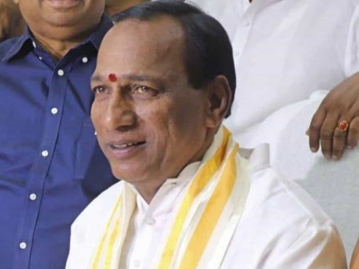 Telangana: Labour Minister Malla Reddy and son booked for land grabbing