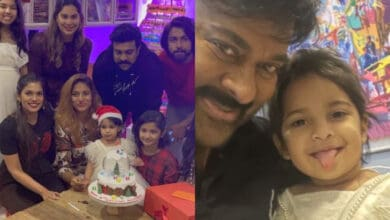 A gift from Santa: Chiranjeevi celebrates granddaughter's b'day on Christmas