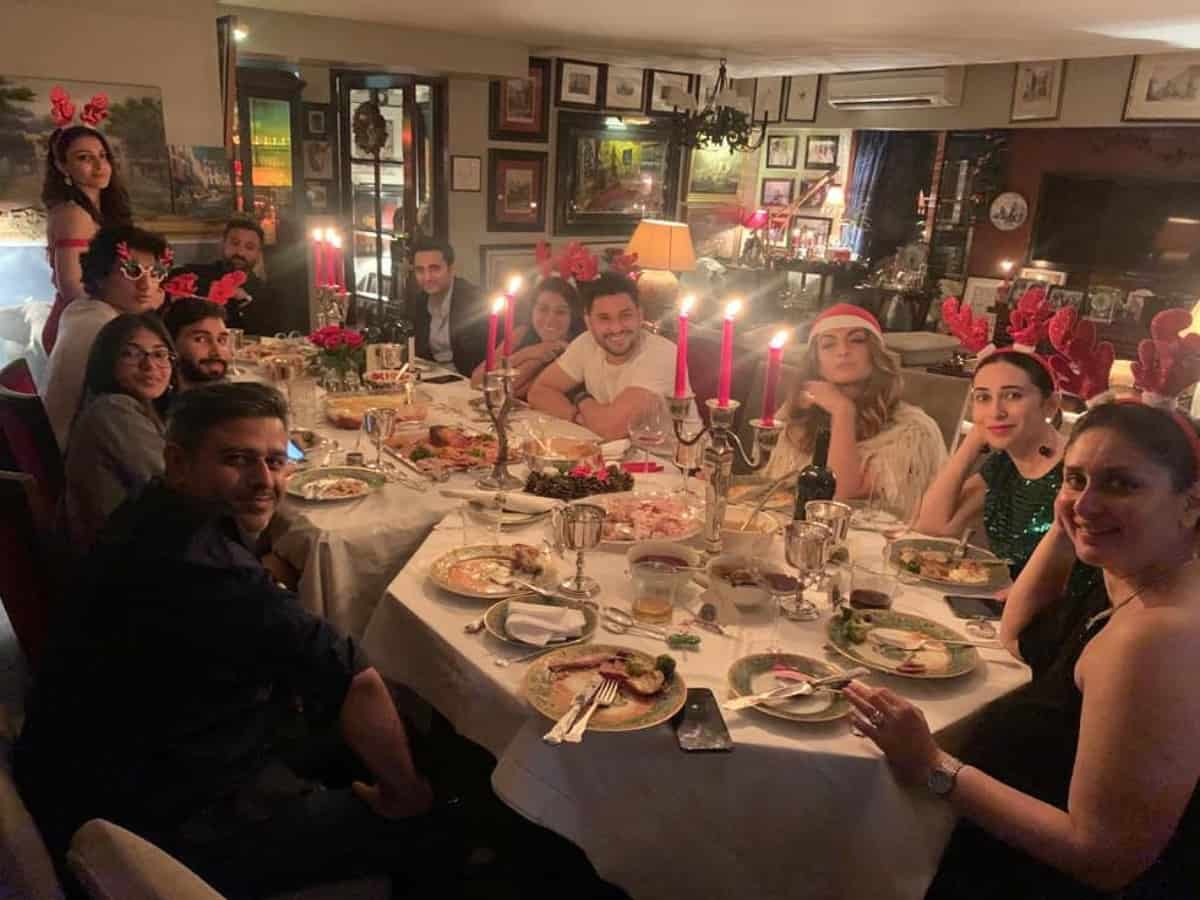 In pics & videos: Christmas eve at Pataudi residence
