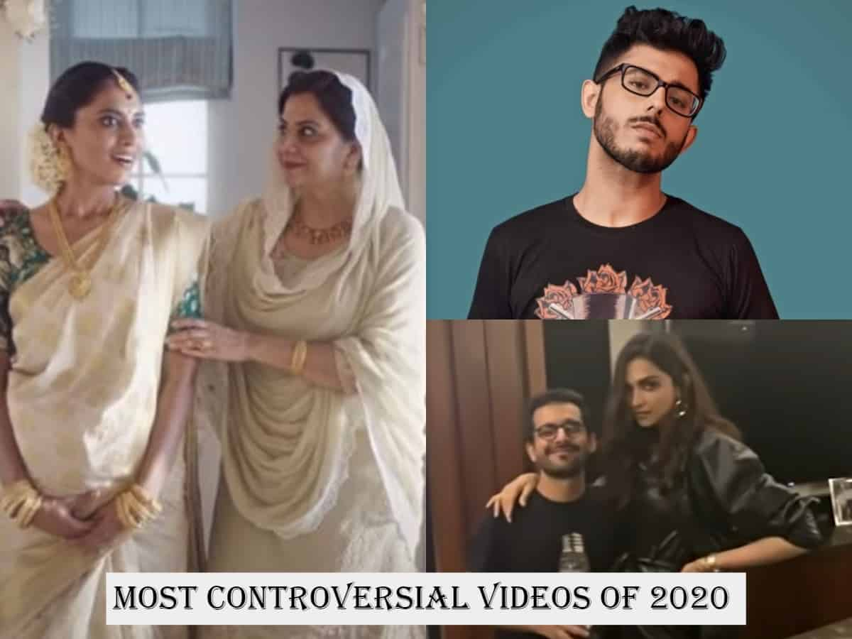 Roundup 2020: From Tanishq's ad to Carry Minati's roast, watch most controversial videos of the year