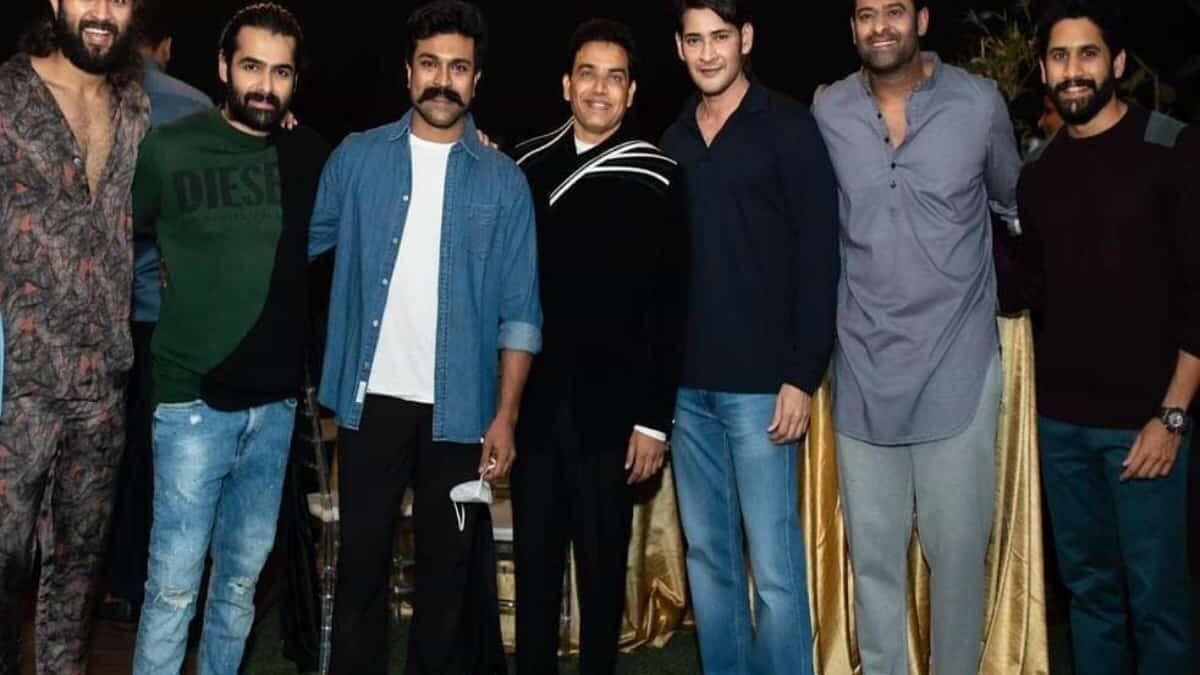 Trending million-dollar pic: All Tollywood 'Big Boys' in single frame