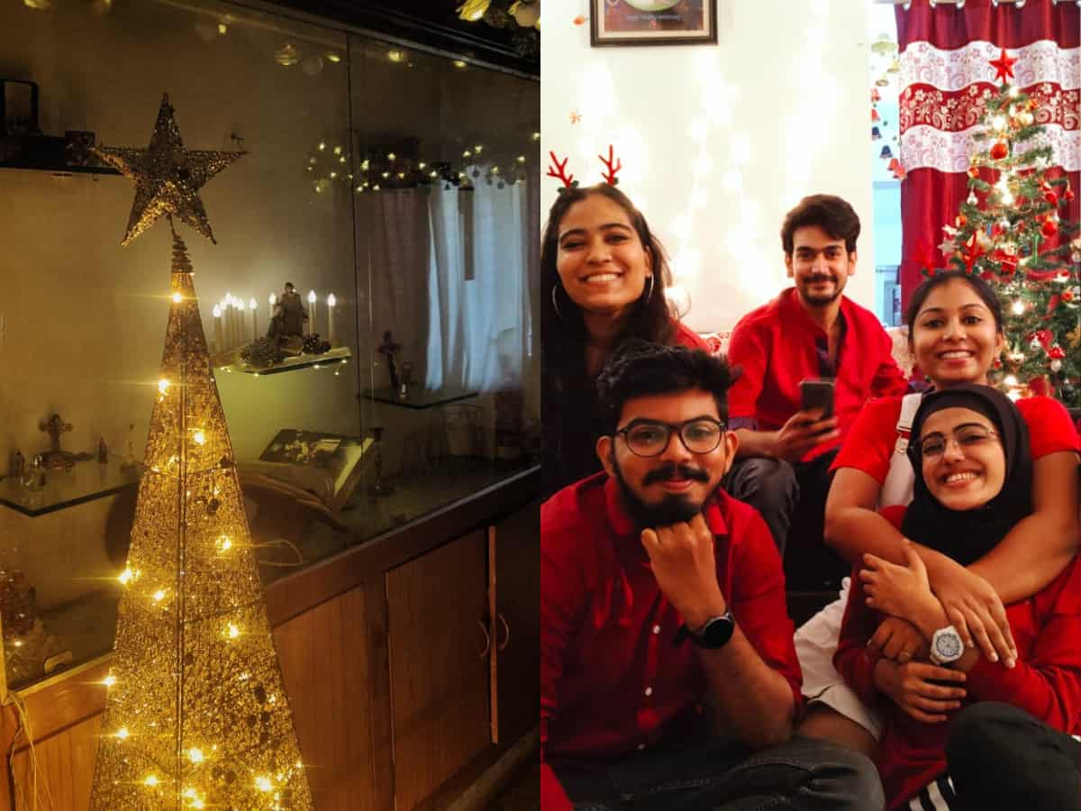Restricted but merry: Hyderabadis gear up for Christmas; see pics