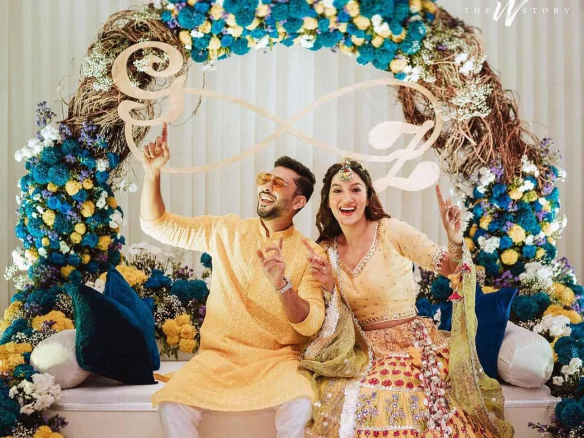 Trending pics & videos from Gauahar Khan's dreamy christmas wedding