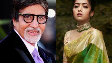 Rashmika Mandanna to play opposite Amitabh Bachchan in her second Bollywood film