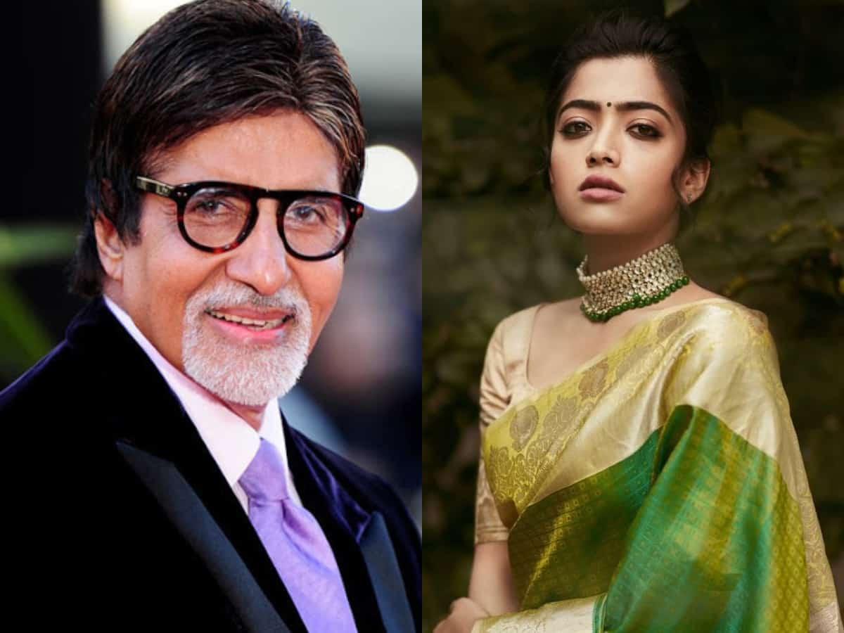Rashmika Mandanna to play opposite Amitabh Bachchan in her second Bollywood film