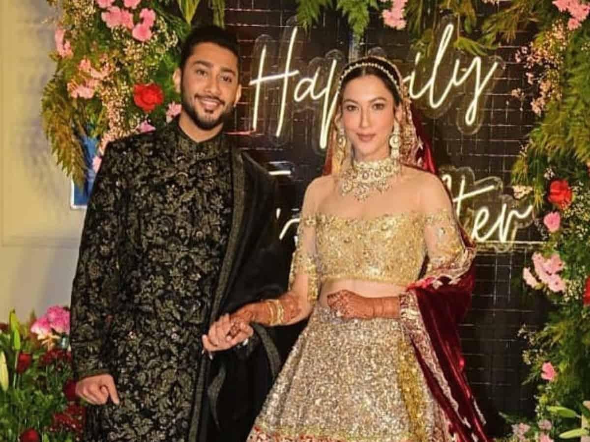 Manish Malhotra, Sanjay Leela Bhansali attend Gauhar Khan's lavish wedding reception