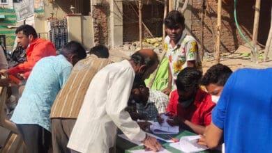 Photo of GHMC polls: Doodh Bowli area experiences heavy polling