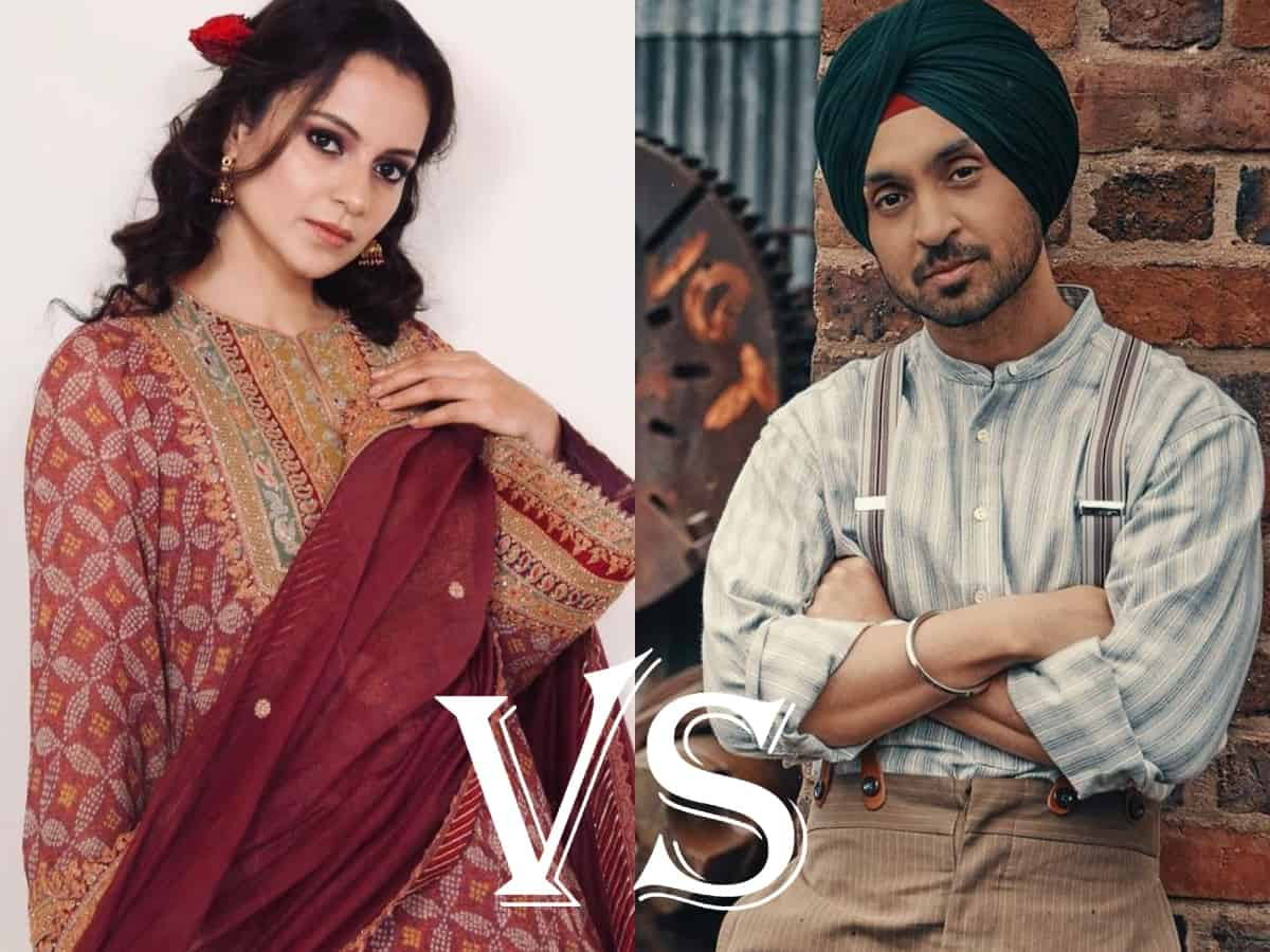 Diljit vs Kangana: Twitter declares 'Paji' as the winner of spat