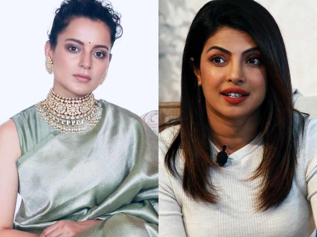 Kangana now targets Priyanka Chopra for supporting farmer's protest