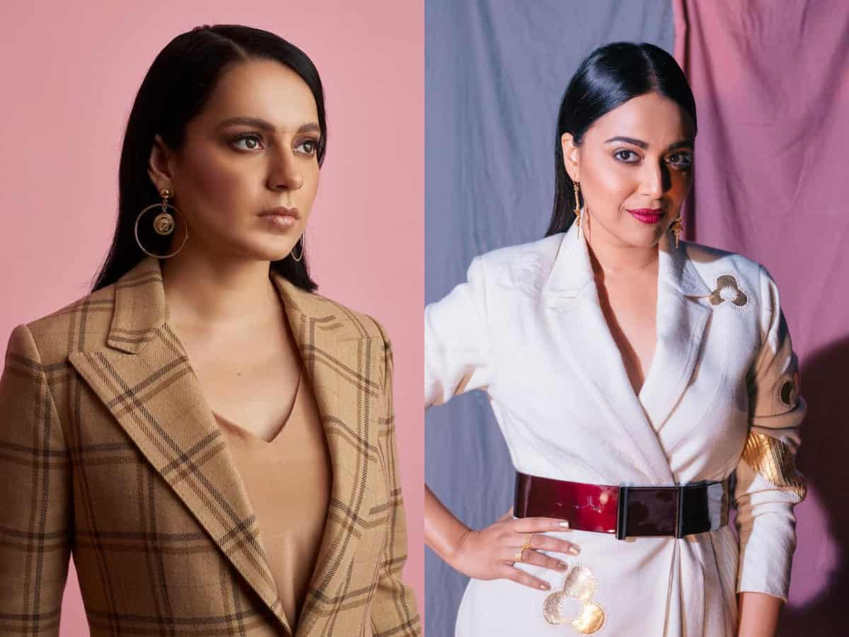 'Great artiste is not necessarily a great human being': Swara Bhasker's jibe at Kangana