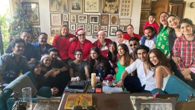 Big fat Kapoor's Christmas party: Alia Bhatt, Tara Sutaria are a family now!