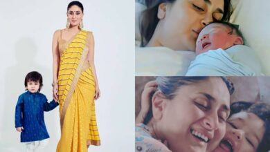 Priceless photos of b'day baby Taimur Ali Khan with mommy Kareena
