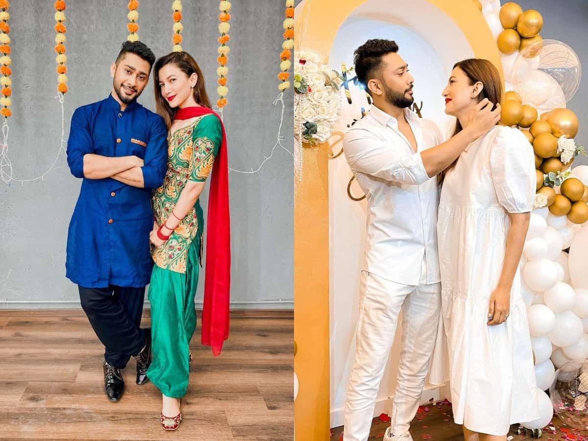 Gauahar Khan, Zaid Darbar ka Nikah: Take a look at loved-up pics of the couple