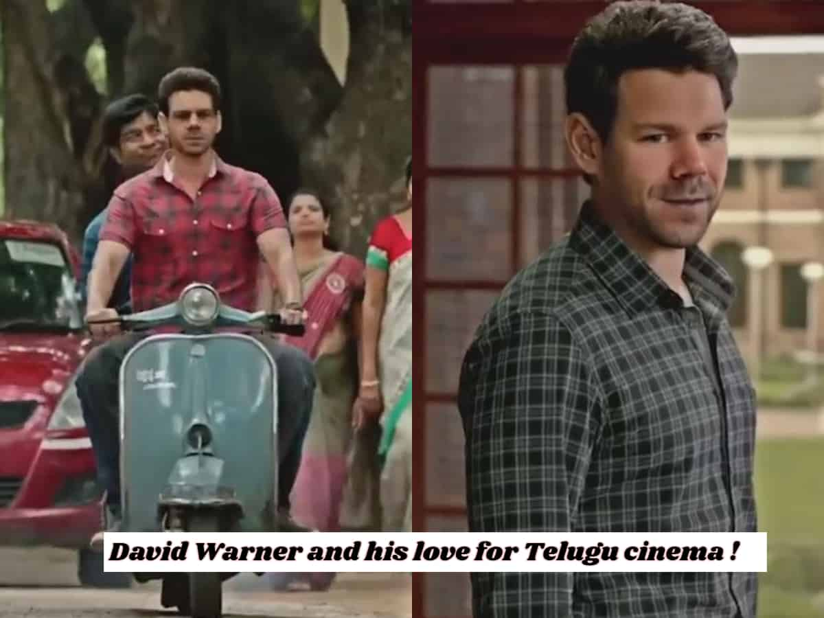 Viral video: David Warner ends 2021 with a Tollywood twist