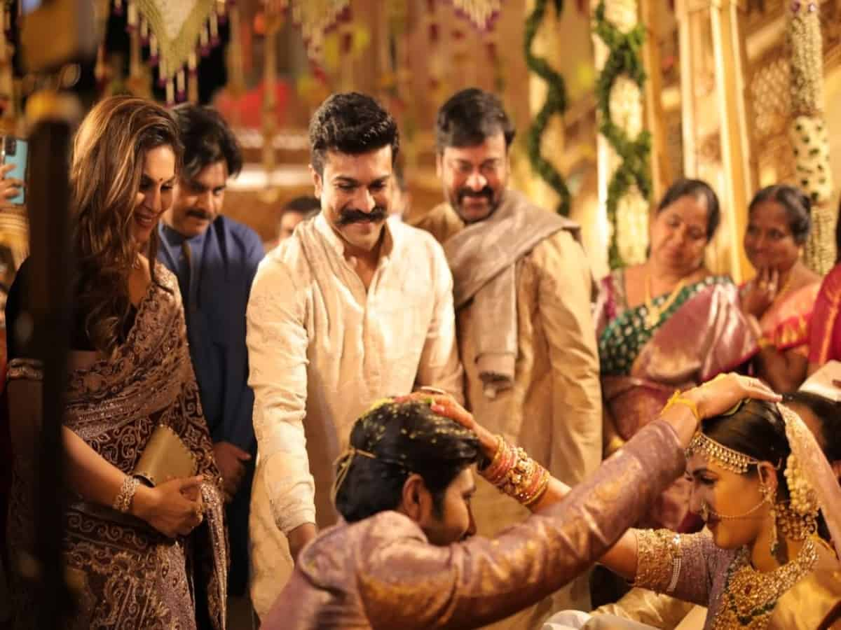 Chiranjeevi's niece Niharika gets hitched in a traditional Telugu ceremony in Udaipur