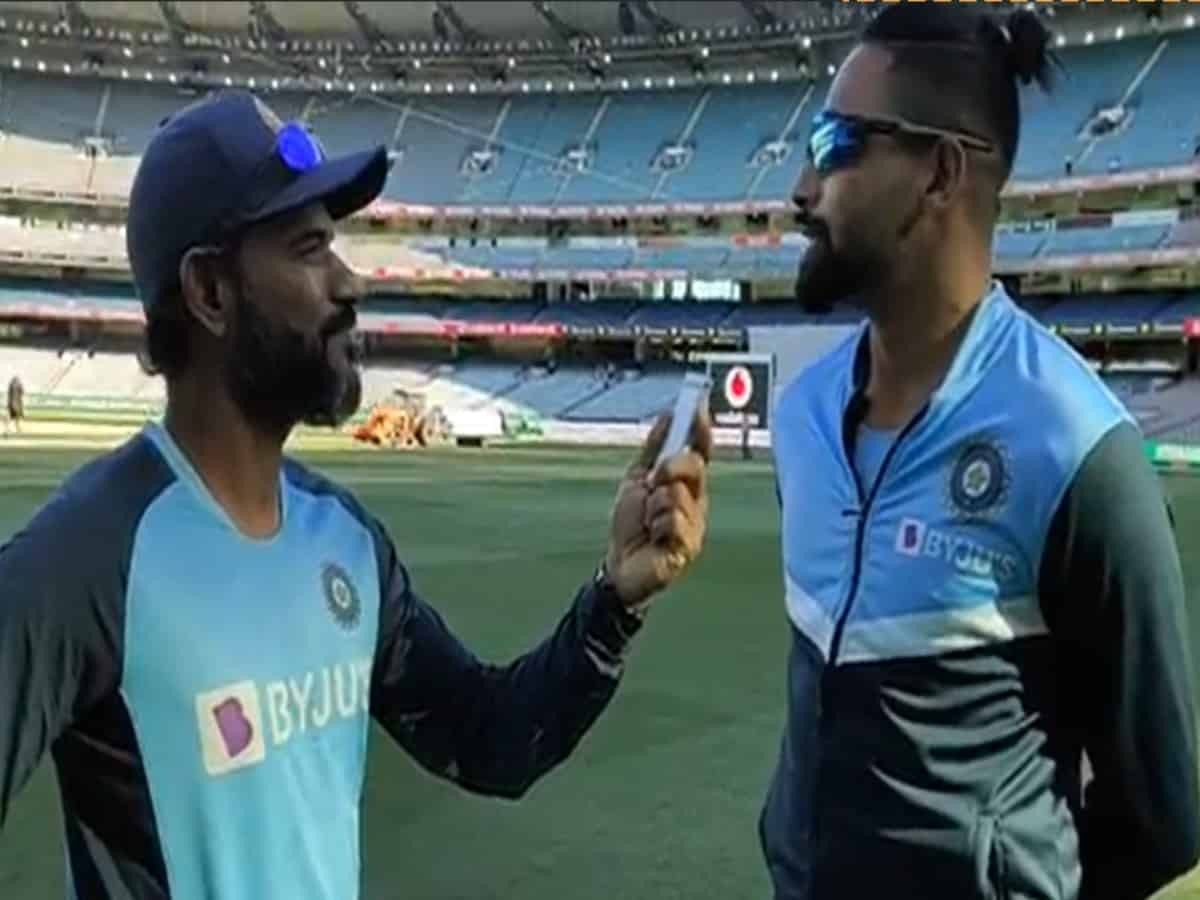 'Maut daal diye': Siraj, fielding coach R Sridhar engage in fun Hyderabadi interview at Melbourne