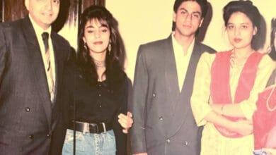 Viral: Flashback pic of Shah Rukh Khan with sister Lal Rukh Khan is 'gem'