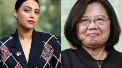 Swara Bhasker got special message from Taiwan's president