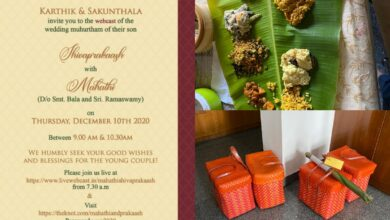 New normal? Tamil family home-delivers wedding meals to guests