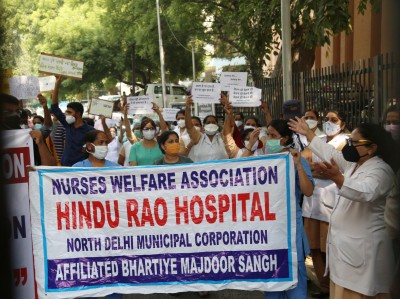 North MCD employees announce indefinite strike over no salaries