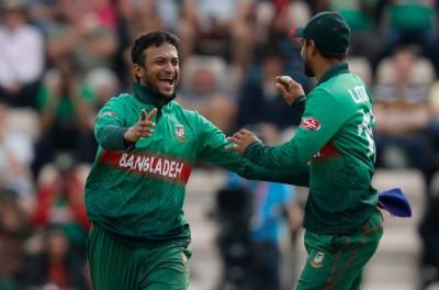 1st ODI: Shakib four-fer helps Bangladesh beat 2nd string Windies