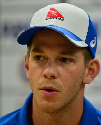 3rd Test: Paine fined for dissent, handed one demerit point