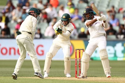 4th Test: Pujara holds ground as India need 145 to win in final session