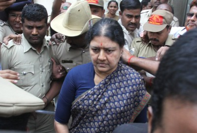 Ahead of release from jail, Sasikala tests Covid positive