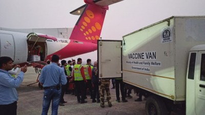Airlines swing into action as vaccine transport commences across the country (Roundup)