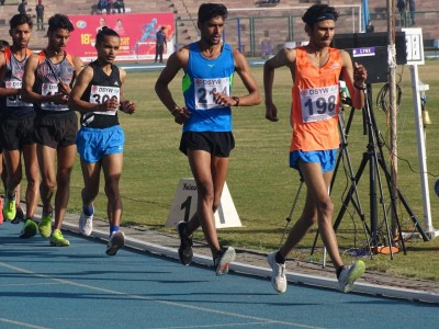 Amit Khatri rewrites national u-20 record in 10,000m race walk