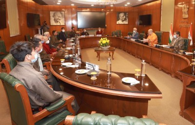 An important step by Home Minister Shah: A committee dedicated to Ladakh's development