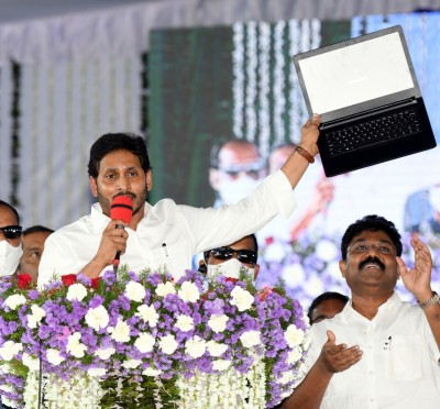Andhra CM credits Rs 6.6k cr into 45 lakh mothers' accounts