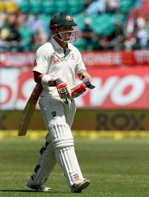 Australia lose David Warner early after electing to bat
