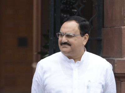 BJP chief Nadda thanks AIIMS Director after Covid-19 recovery
