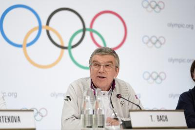 Bach reiterates Olympic Games remain priority in 2021