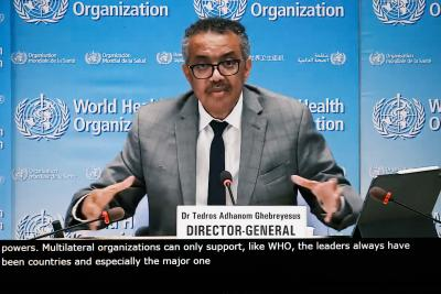 Bilateral vaccine deals putting WHO-led Covax at risk: Tedros