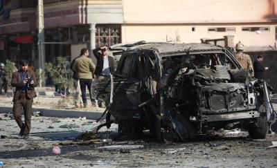 Blast kills 3 in Kabul