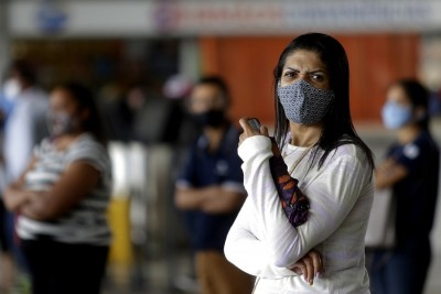 Brazil sees 1,192 new Covid-19 deaths
